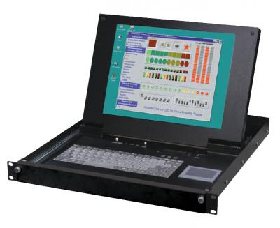 KVM-система IEI Technology LKM-9268GB-RU